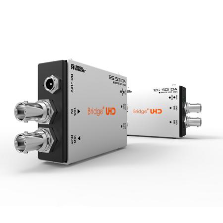 Digital Forecast UHD M-DA 12G SDI Distribution Amplifier (1 Input x 3 Output) SD / HD / FHD / 6G / 12G Standard Format