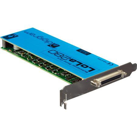 Digigram LoLa280 low profile PCI Express Audio Card