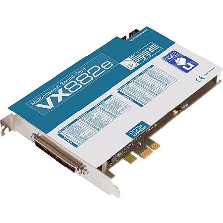 Digigram VX882e PCI Express Audio Card