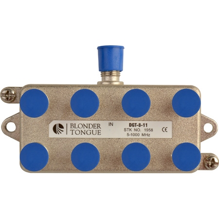 Blonder Tongue DGT-8 Digital Ready Directional Tap 8 Output 11dB