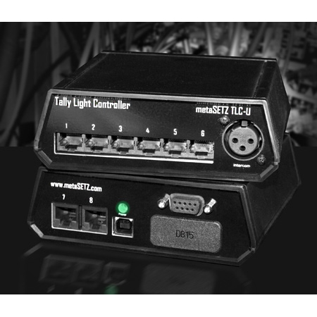 metaSETZ TLC-U-9 8 Output Tally Controller for 9-Pin Switchers