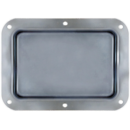 Black Steel Dish 7 Inches X 5 Inches