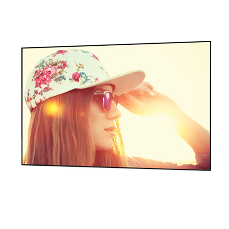 Da-Lite 29829 Parallax Pure Thin 2.3 49x87 16:9 Surface for Standard Throw Projectors