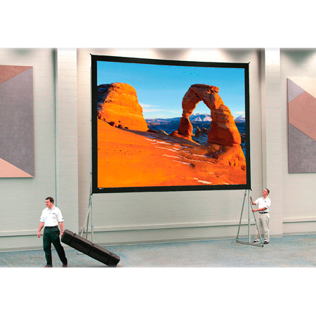 Da-Lite 88608 69x120 Inch Fast-Fold Deluxe Screen System