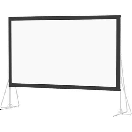 Da-Lite 92149 Da-Lite Heavy Duty Fast-Fold Deluxe Screen System 10X17 Foot