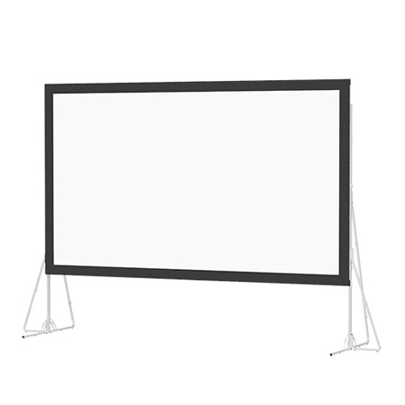 Da-Lite 92151 Heavy Duty Fast-Fold Deluxe Screen System 16 9 135 Inch x 240 Inch (11.25ft x 20ft) Dual Vision