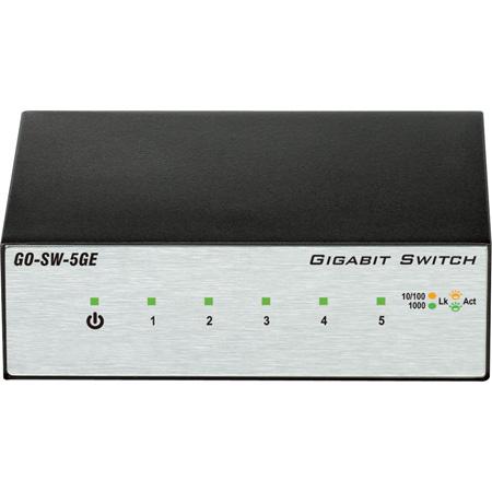 D-Link GO-SW-5GE 5-Port Gigabit Unmanaged Metal Desktop Switch