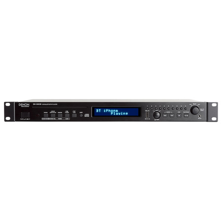 Denon Professional DN-500CB CD Player with Bluetooth USB and AUX Inputs - 1RU