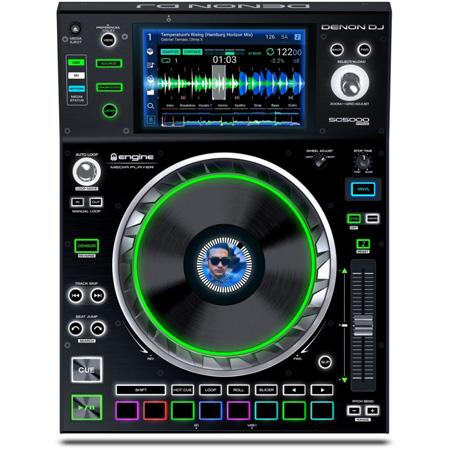 Denon DJ SC5000 Prime Professional DJ Media Player with 7 Inch Multi-Touch Display