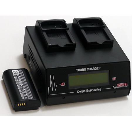 Dolgin TC200-PAN-BLJ31-i 2 Position Battery Charger - DMW-BLJ31-Panasonic Lumix DC-S1/DC-S1R/DC-S1H