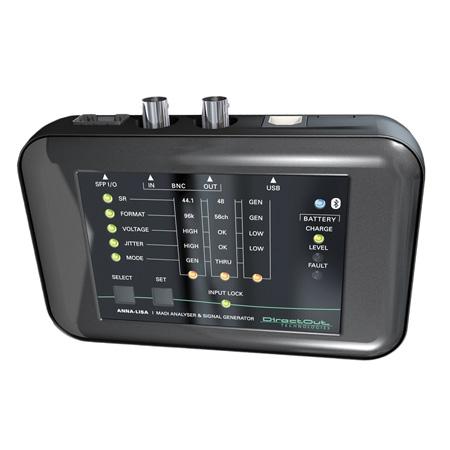 DirectOut Technologies ANNA-LISA Battery Powered Mobile MADI Analyzer & Signal Generator