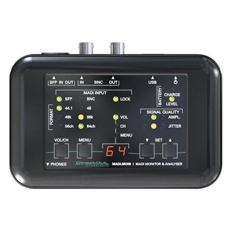 DirectOut Technologies MADI MONI Handheld MADI Tester with Comprehensive Monitoring