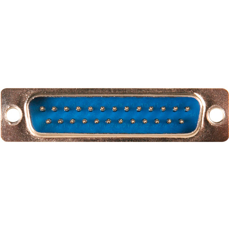 25-Pin D-Sub Connector Body Insert - Male