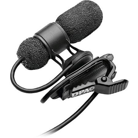 DPA 4080DC-D-B00 - d:screet CORE 4080 Cardioid Microphone - Normal SPL -  Black -  MicroDot