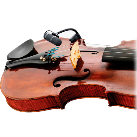 DPA VO4099V d:vote4099 Instrument Mic Kit Supercardioid Violin