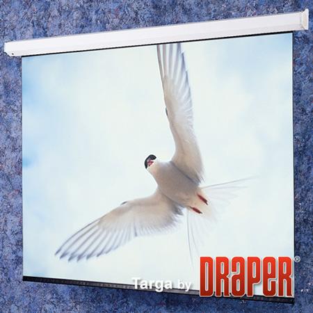 Draper 116006 96x96 Inch Matt White Targa Electric Projection Screen