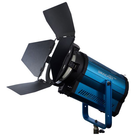 Dracast DRPLFL1500B LED1500 Fresnel Series Bi-Color 3200K - 5600K with DMX Control