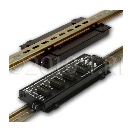 RDL DRA-35S STICK-ON DIN Rail Adapter - 1 Module