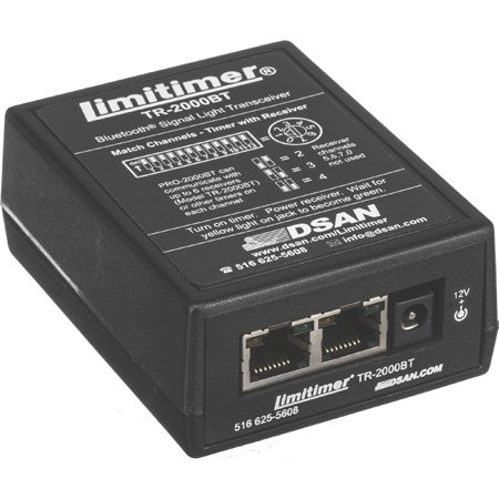 DSan TR-2000BT Bluetooth Wireless Receiver for Limitimer Signal Lights - includes Power Supply & Cat-5 Cable