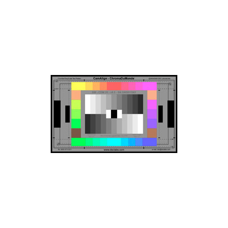 DSC Labs SW19-CDM28 ChromaDuMonde28 Test Chart - Standard 21.3 x 13 Inches