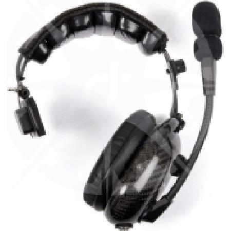 Dalcomm Tech Model J2-Dual Pro Video Single Ear Headset with Earbud