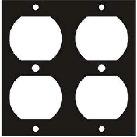 UCP Module 2 Duplex Receptacle Punchouts