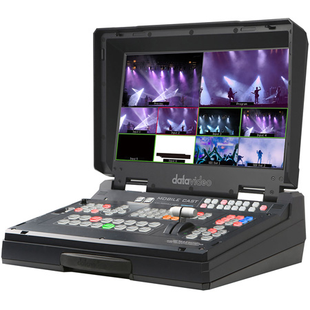 Datavideo HS-1300 6 Input HD Mobile Studio with Built-In Streaming and Recording with 4x HD-SDI and 2x HDMI Inputs