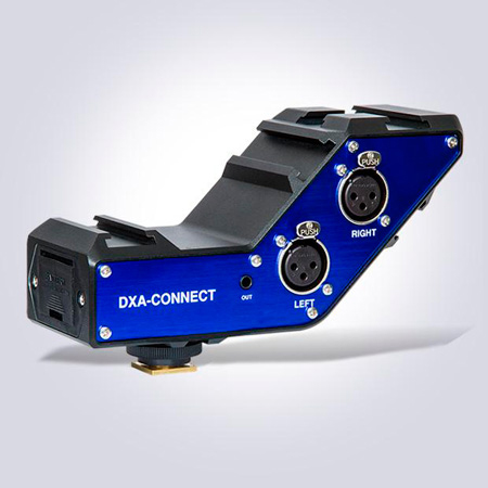 BeachTek DXA-CONNECT Versatile Audio Accessory for DSLR Cameras and Camcorders