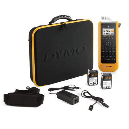 DYMO XTL 300 Label Maker - QWERTY Keyboard - Kit with Carry Case & 150 Labels - Li-Ion Battery
