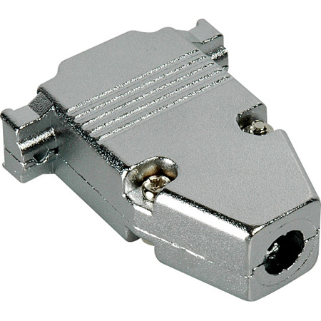 15-Pin D-Sub Connector Hood - Metal