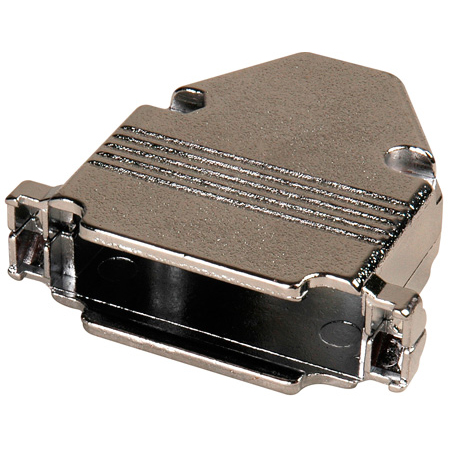 25-Pin D-Sub Connector Hood - Metal