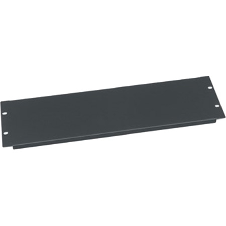Middle Atlantic EB-3 Blank Panel - 3 RU - Steel - Flanged