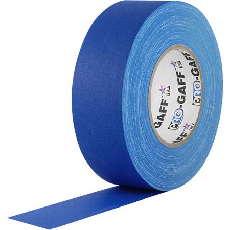 Pro Tapes 001UPCG255MELEBLU Pro Gaff Gaffers Tape EGT-60 2 Inch x 50 Yards - Digital Key Electric Blue