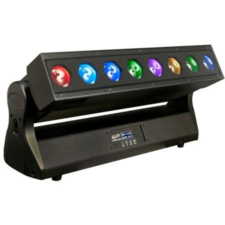 Elation Professional CHO001 Chorus Line 8 - 8 Pixel Bar Wash Luminaire with 40W 4-in-1 RGBW LEDs