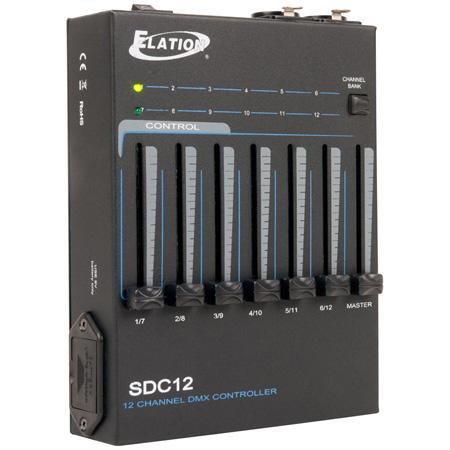 Elation Professional SDC12 12-Channel Basic DMX Controller