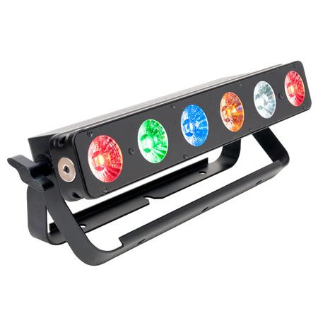 Elation Professional SIX074 Six Bar 500 6 Color LED Bar 6X12 Watt