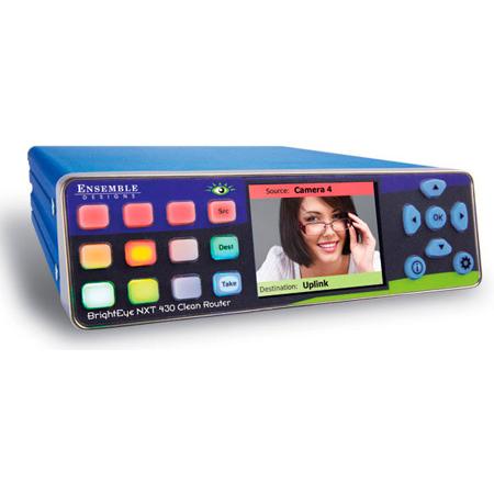BrightEye NXT 415 13x2 / 2x13 Configurable 3G HD-SDI Routing Switcher