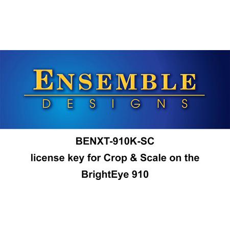 Ensemble Designs BENXT-910K-SC BrightEye NXT 910-SC Crop and Scale License for the BENXT-910 (download)