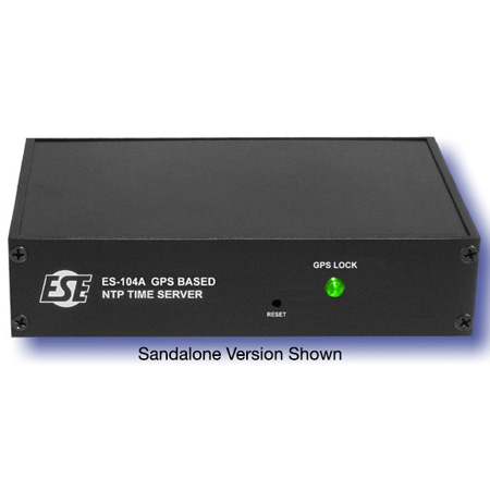 ESE ES-104A GPS Based NTP Time Server with Rack Mount Option