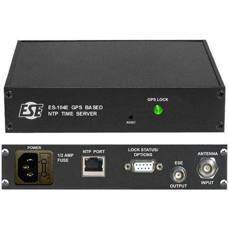 ESE ES-104E GPS Referenced NTP Time Server