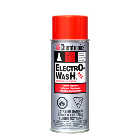 Chemtronics Electro-Wash MX 10oz Cleaner Degreaser