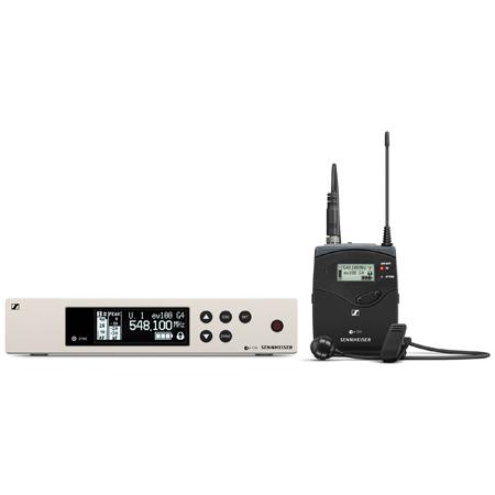 Sennheiser EW 100 G4-ME4-A Wireless Lav Set with SK 100 G4 Bodypack & ME 4 Cardioid Condenser Lav Mic (516 - 588 MHz)