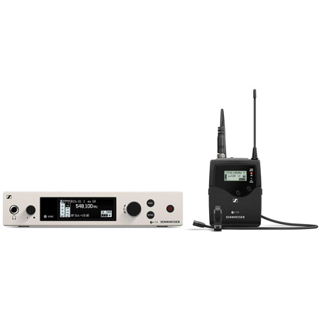 Sennheiser EW 500 G4-MKE2-AWplus Wireless Omnidirectional Condenser Lavalier Set (470 - 558 MHz)
