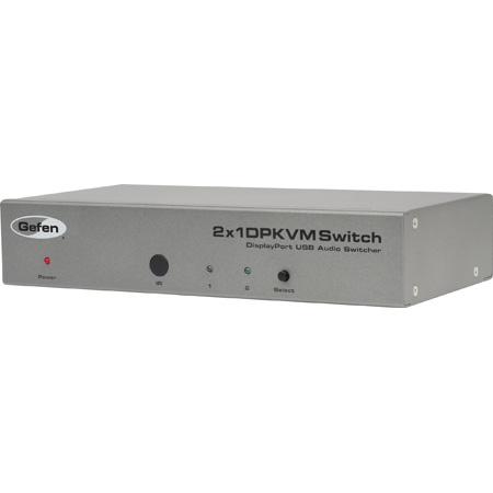 Gefen EXT-DPKVM-241 Two Input DisplayPort KVM Switcher