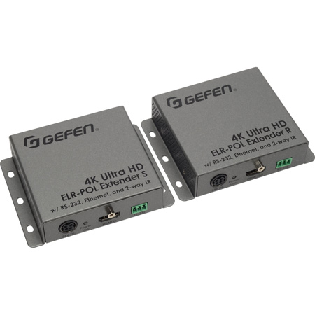 Gefen EXT-UHD-CAT5-ELRPOL 4K Ultra HDMI Extender Using One CAT5E Cable