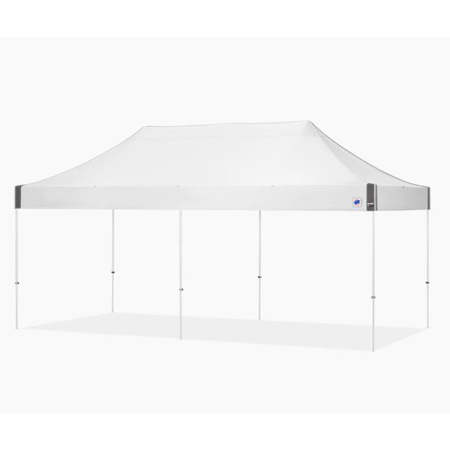E-Z Up ES8204WH Eclipse Shelter 10x20 Foot White Top and Frame