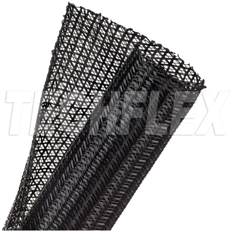 TechFlex F6N1.50BK250 1 1/2 Inch F6-Self Wrap Sleeving Black 250 Ft.