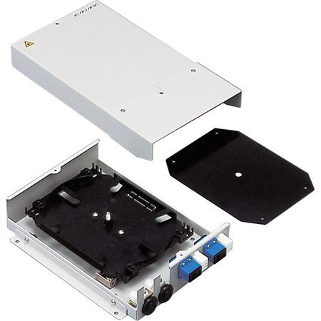 Canare FCE-4 4-Camera Hybrid Fiber Optic Splice Enclosure