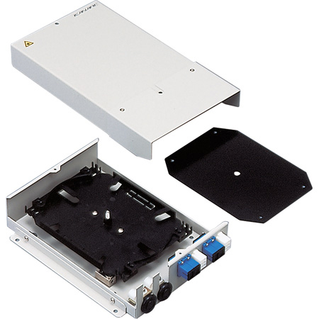 Canare FCE-6 6-Camera Hybrid Fiber Optic Splice Enclosure