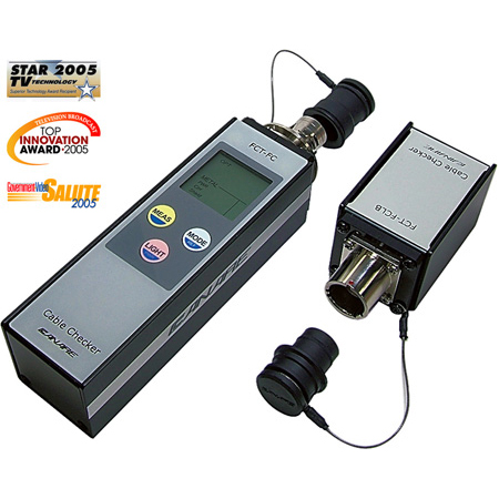 Canare FCT-FCKIT SMPTE Fiber Optic Cable Checker Tester with Case & Battery & Carry Straps